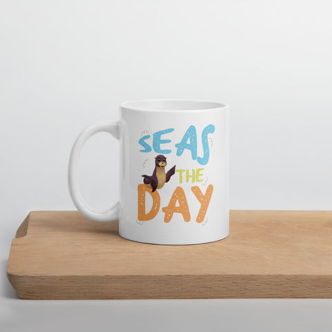Seas The Day3 Mug - Code Pineapple