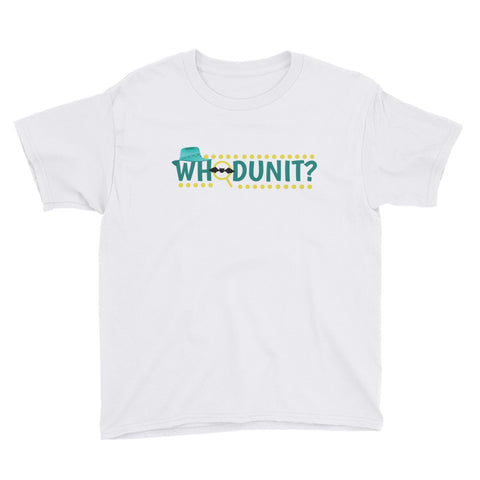 Whodunit? Youth Short Sleeve T-Shirt - Code Pineapple
