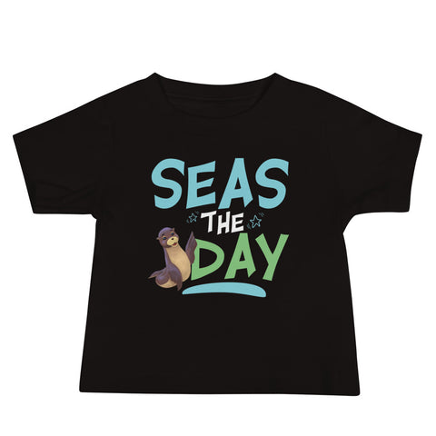 Seas the Day2 Baby Jersey Short Sleeve Tee - Code Pineapple