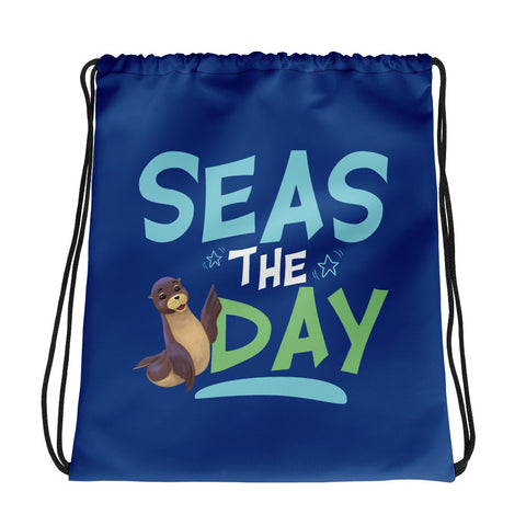 Seas the Day2 Drawstring bag - Code Pineapple
