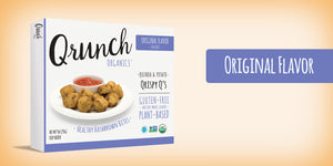Qrunch Qrispy Q's Original 9 oz box, 4 Pack, Case of 6