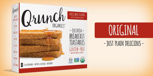Qrunch Toastables Original, 4 Pack, Case of 6
