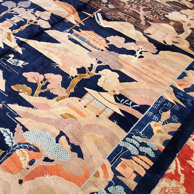 Art-Deco-Fetté-Scenery-Wool-Carpet-Richard-Afkari-Rugs-In-NYC