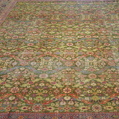 Sultanabad/Ziegler-Square-Wool-Carpet-Richard-Afkari-Rugs-In-NYC