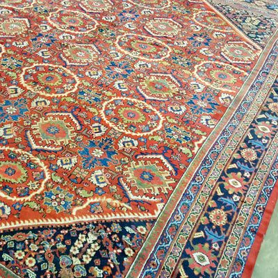Antique-Persian-Sultanabad-Carpet-Richard-Afkari-Rugs-In-NYC