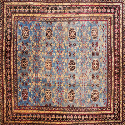 Indian-Masla-Patan-Square-Carpet-Richard-Afkari-Rugs-In-NYC