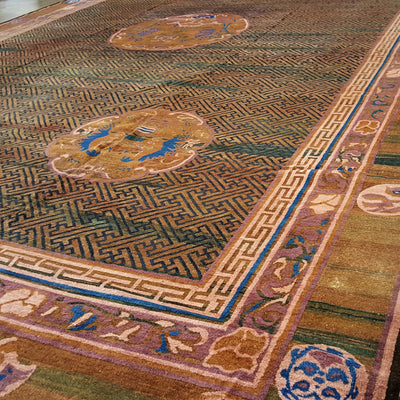 Dragon-Design-Mongolian-Carpet-Richard-Afkari-Rugs-In-NYC