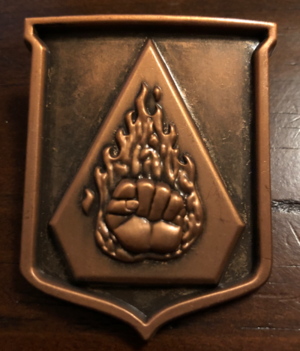Flaming Fist Badge