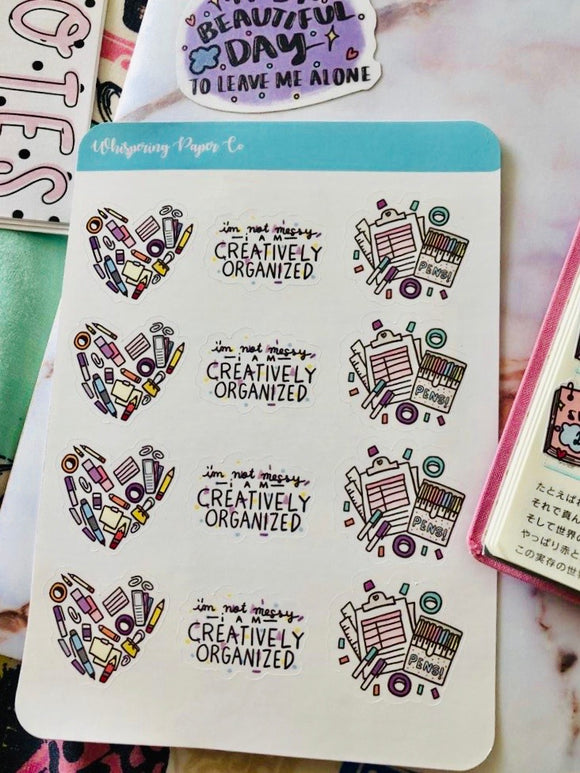 Creative Minds - Sticker Sheet