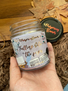 Falling Between the Pages - 7oz Jars and 4oz tins