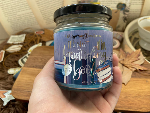 It's Not Hoarding if it's Books - 7oz Jars and 4oz jars