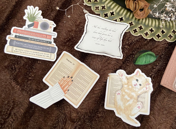 Bookstagram 2.0 - Mini Vinyl Sticker Bundle