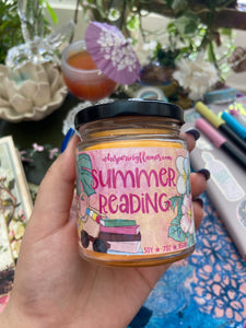 Summer Reading - 2oz tin and 7oz jar