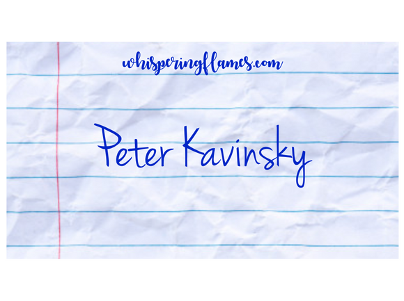 Peter Kavinsky - Bookish Lip Balm