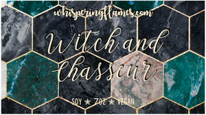 Witch and Chasseur - Inspired by Serpent and Dove - 7oz Jars and 2oz Tins
