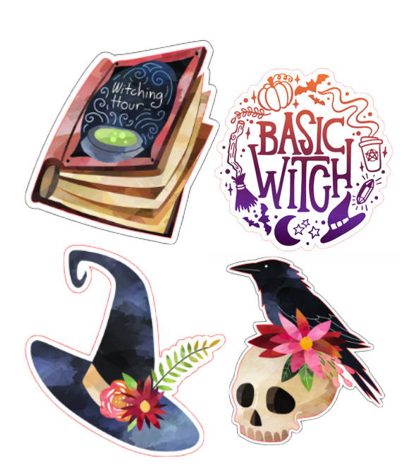 Witchy Decal Stickers