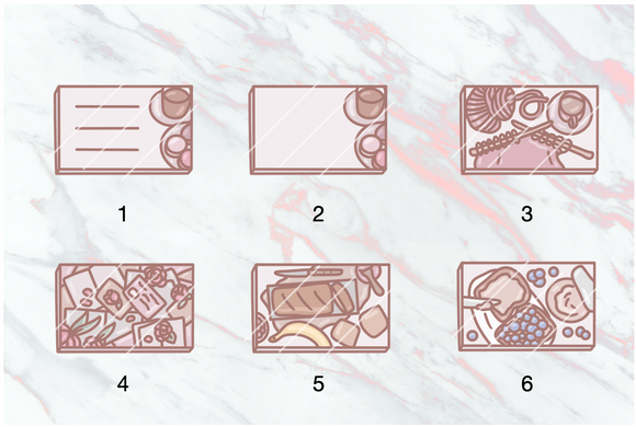 Flatlay DECAL Bundle 4 - Choose your sheet