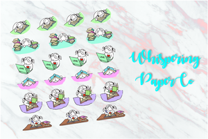 Study Set 1 - Planner stickers
