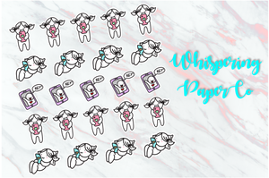Video Calling - Planner stickers