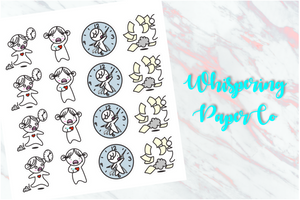 Running late - Planner stickers