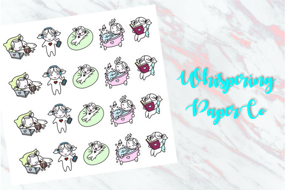 Relax! - Planner stickers