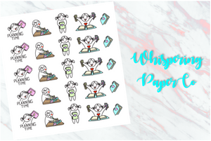Planning time - Planner stickers