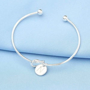 26 letter gold silver color heart bracelet - Jewelry and Accessories Trends