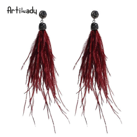 Bohemian dangle earrings