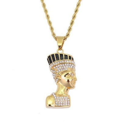 Ancient Egyptian Queen Necklace Pendant