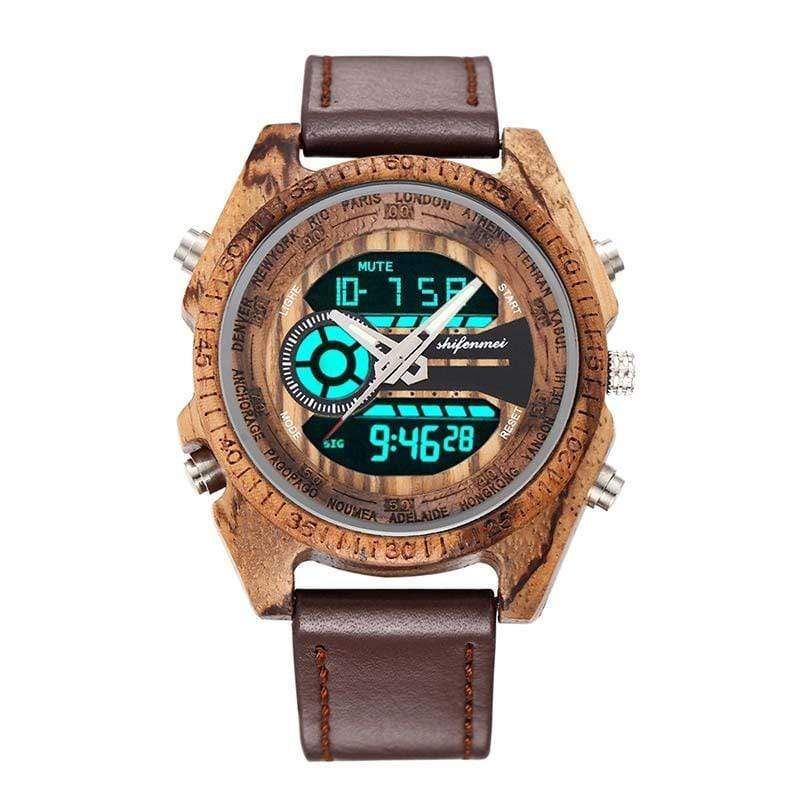 Antique Natural Wooden Men's Watches - Jewelry and Accessories Trends