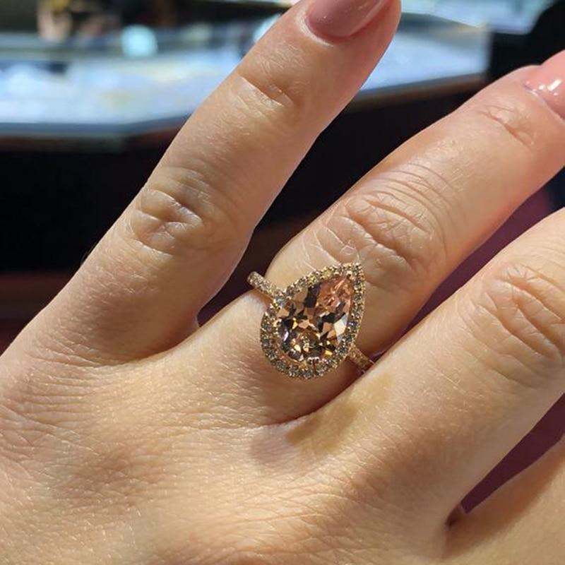 Elegant Cubic Zirconia Ring - Jewelry and Accessories Trends