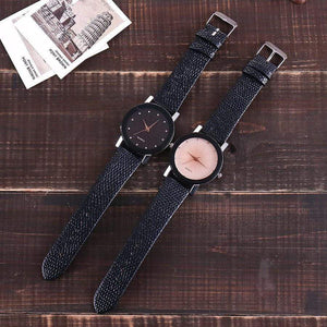 Luxury Casual Quartz Leather Strap Wrist Watch - Jewelry and Accessories Trends