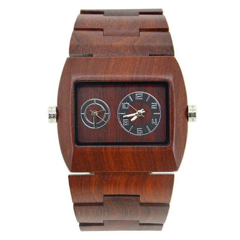 Men's Wood Watch New Quartz - Jewelry and Accessories Trends