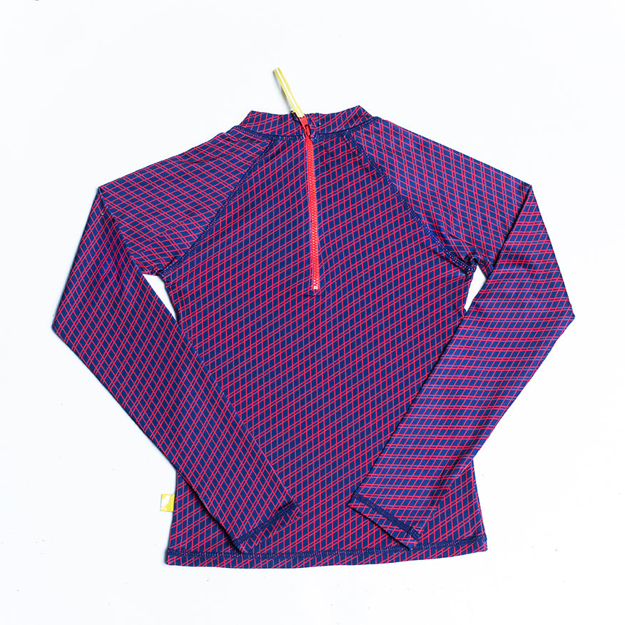 Fisher Unisex Rashie: Lattice