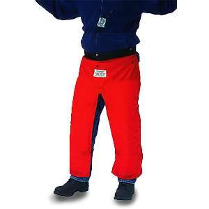 Kunys Chaps Chainsaw Protective Wear Red