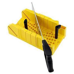 Stanley Clamping Mitre Box w/Saw 20-600
