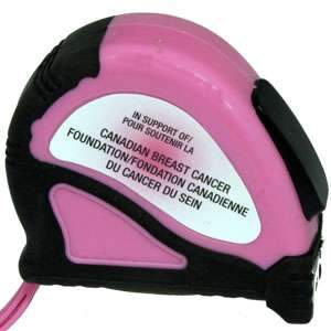 Pink 16-foot (5m) Measuring Tape