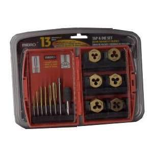 Mibro 873940 13-Piece Tap and Die Set