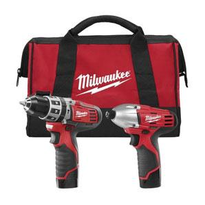 Milwaukee 2497-22 12 Volt Lithium Ion Cordless Combo Kit