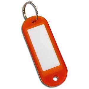 Key Ring w/Blank Lable Tag