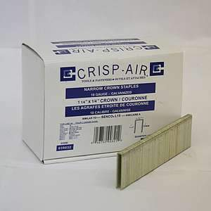 Crisp-Air, 1-1/4'' x 1/4'' Narrow Crown Staples, 039032