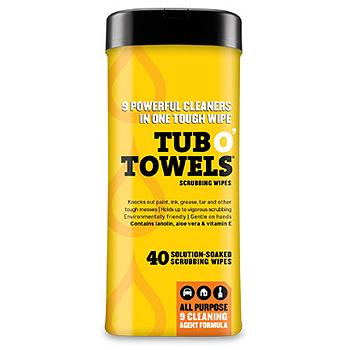 Wonder Works Tub O' Towels 40 7 x 8-inch Wipes