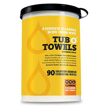 Wonder Works Tub O' Towels 90 10 x 12-inch Wipes