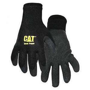 CAT Med Latex Palm String Knit Work Gloves  CAT017400M