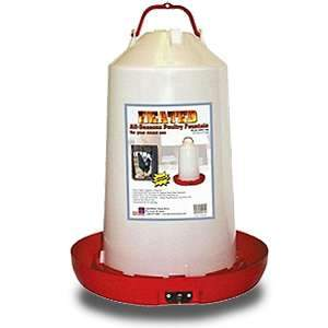 Farm Innovators HPF-100 All-Seasons Heated Plastic Poultry Fountain 3 Gal 100 Watt