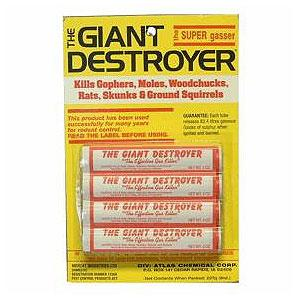 The Giant Destroyer Burrowing Pest Killer 4-pk 086-315
