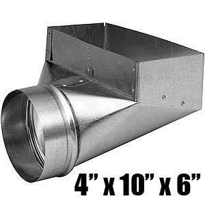 Imperial GV0626 4 x 10 x 6-inch Angle Register Boot