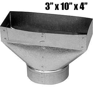 Imperial GV0658 4 x 10 x 5-inch End Boot