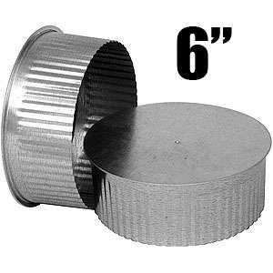 Imperial GV0735 6-inch Round End Cap (small end)