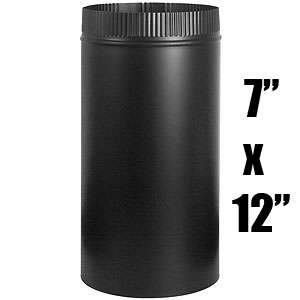 Imperial BM0103 7 x 12-inch Half Joint Woodstove Pipe